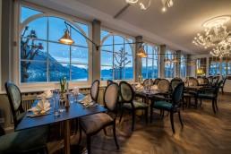 Inneneinrichtung Restaurant Schwan Gmunden